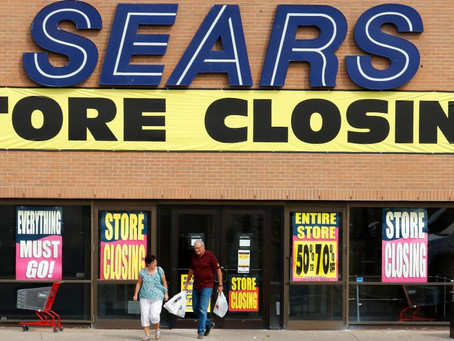 Facing Possible Liquidation, Sears Plans to Close 80 + Stores and More in March