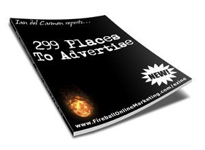 299 Places To Advertise Resale Rights Ebook