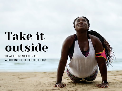 Take it outside: Health benefits of working out outdoors