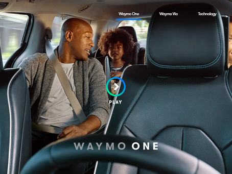 Waymo Self-driving Taxi Service to Open to the Public in Arizona.
