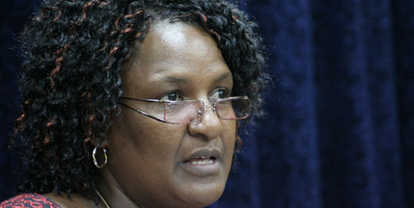 Naomi Shaban : Naomi Namsi Shaban is a Kenyan politician. She was first elected to represent the Taveta Constituency in Parliament in 2002 through a Kenya African National Union ticket. She defended the seat in 2007 election through KANU and won