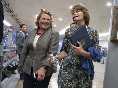 "Trump Won Her state By 36 Points but She Is Still A ""No"" On Kavanaugh. Meet Sen. Heidi Heitkamp"