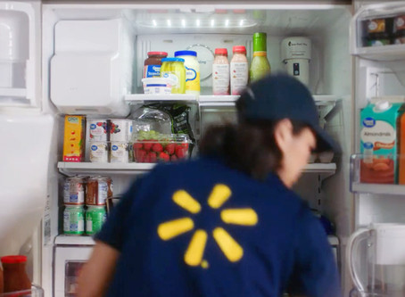 Walmart Begins direct-to-fridge delivery service with One Million U.S Customers