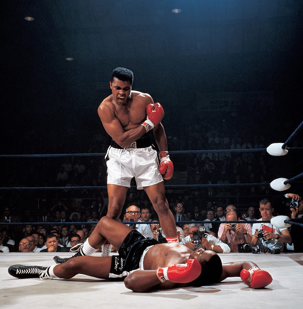 Muhammad Ali was an American professional boxer, activist, and philanthropist. He is widely regarded as one of the most significant and celebrated sports figures of the 20th century. From early in his career, Ali was known as an inspiring, controversial, and polarizing figure both inside and outside of the ring.
