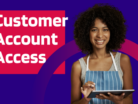 Set up your customers with their own accounts with your company logo