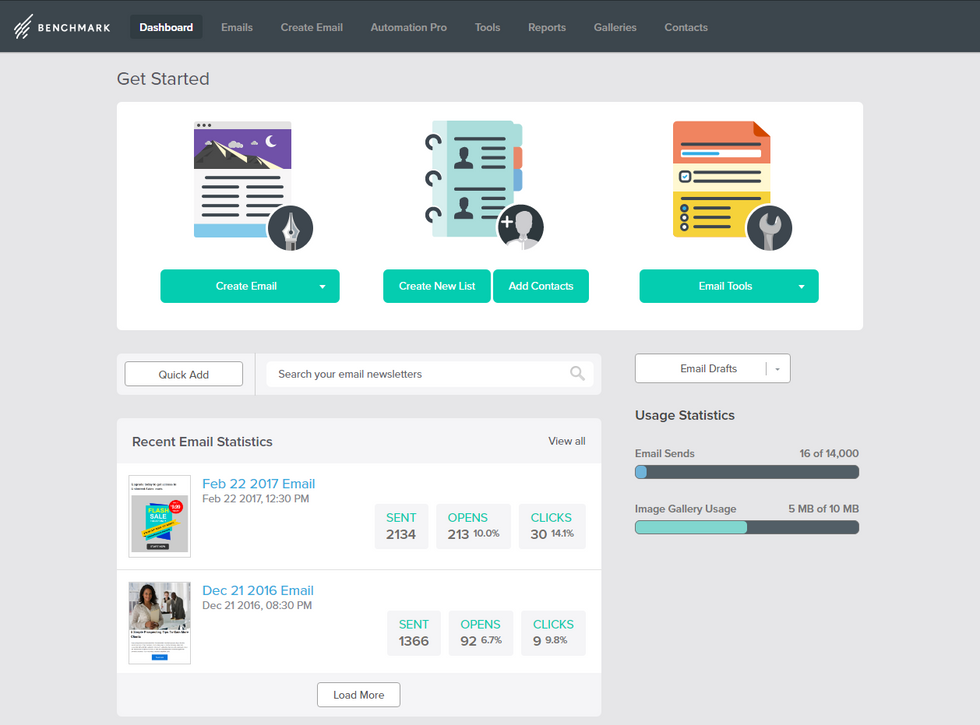 Benchmark Email Marketing Platform: A just-right Solution for your small business
