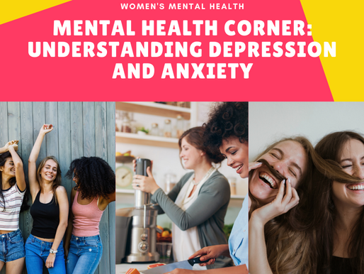 Mental health corner: Understanding depression and anxiety