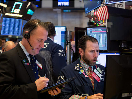 Dow Drops More Than 500 Points, Erasing Gains for The Year
