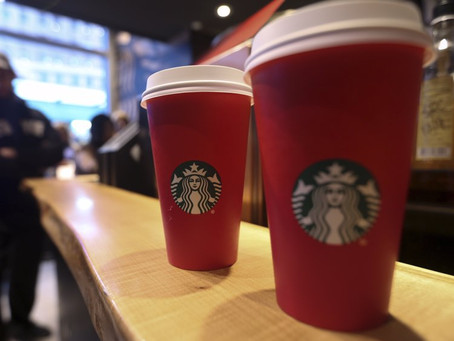 Starbucks' Holiday Cup Offer Takes a Left Turn