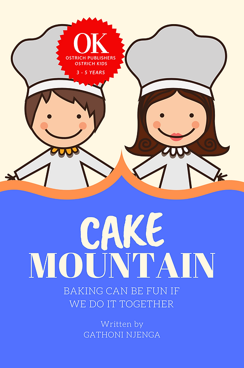Cake Mountain: BAKING CAN BE FUN IF WE DO IT TOGETHER