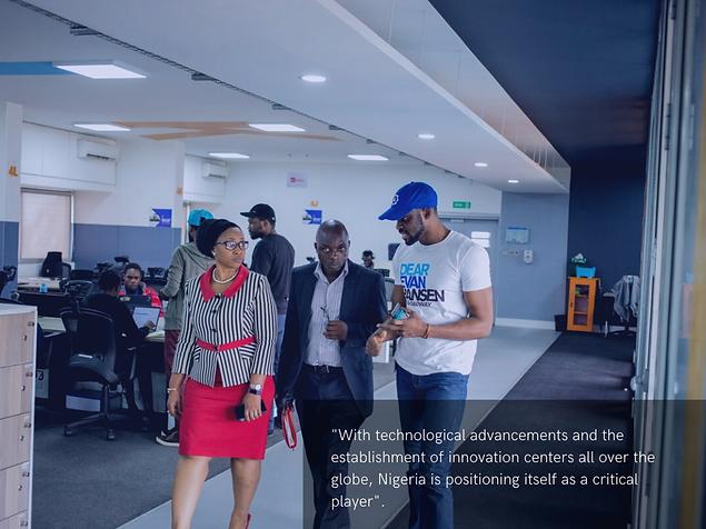 Is Nigeria technologically advanced?