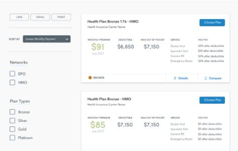cheap health insurance plans