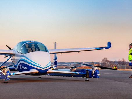 Boeing Successfully Tests Prototype of Its Flying Car