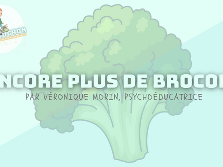 Encore plus de brocoli
