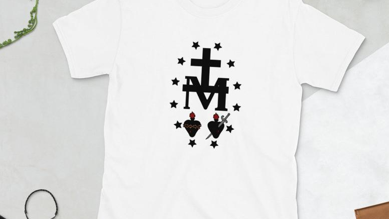 Miraculous Medal Tee (Price includes shipping and tax!)