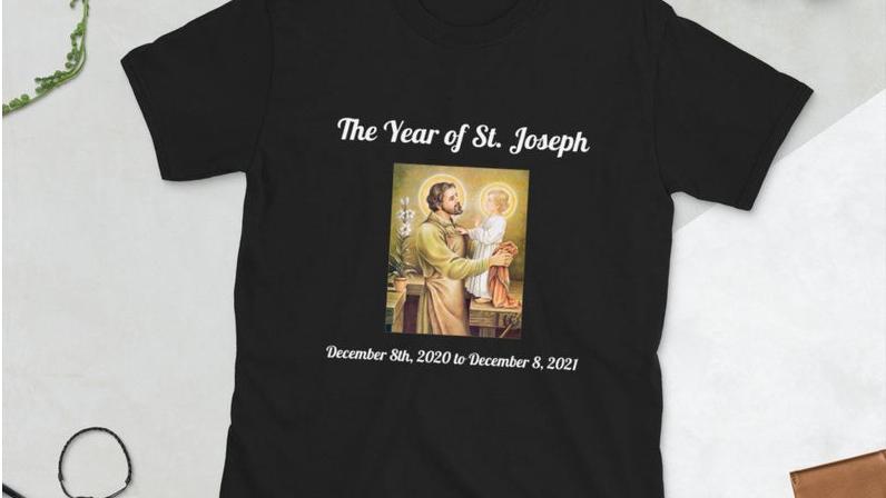 Black Year of Saint Joseph Tee