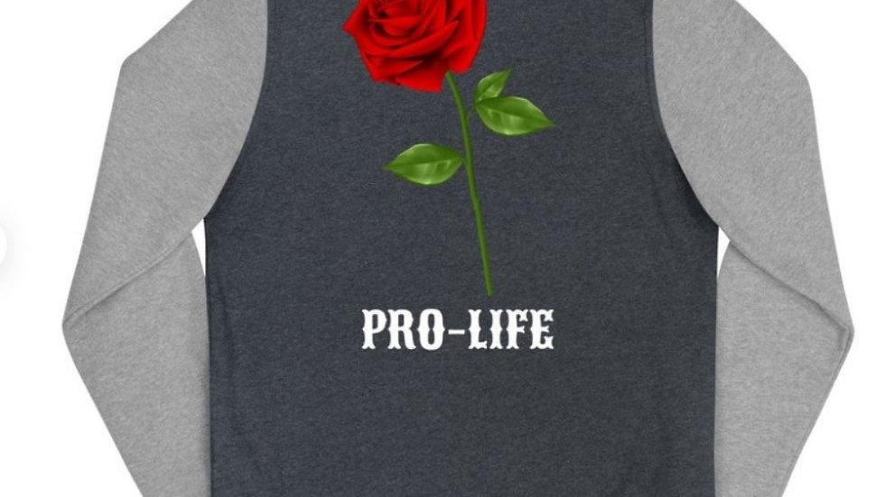 Women's Pro-Life Letterman Jacket