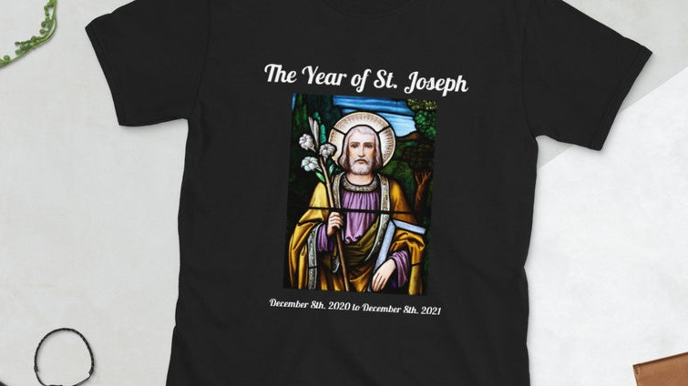 St. Joseph Short-Sleeve Unisex T-Shirt (Price includes shipping and tax!)