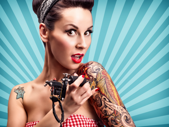 Rockabilly Style / Flamingo-Style / Pinup Style