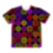 サイケデリックパターンTシャツ.jpg