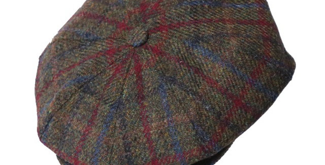 James Lock & Co. Sandwich tweed cap Patt3 ジェームスロック キャスケット イギリス 帽子