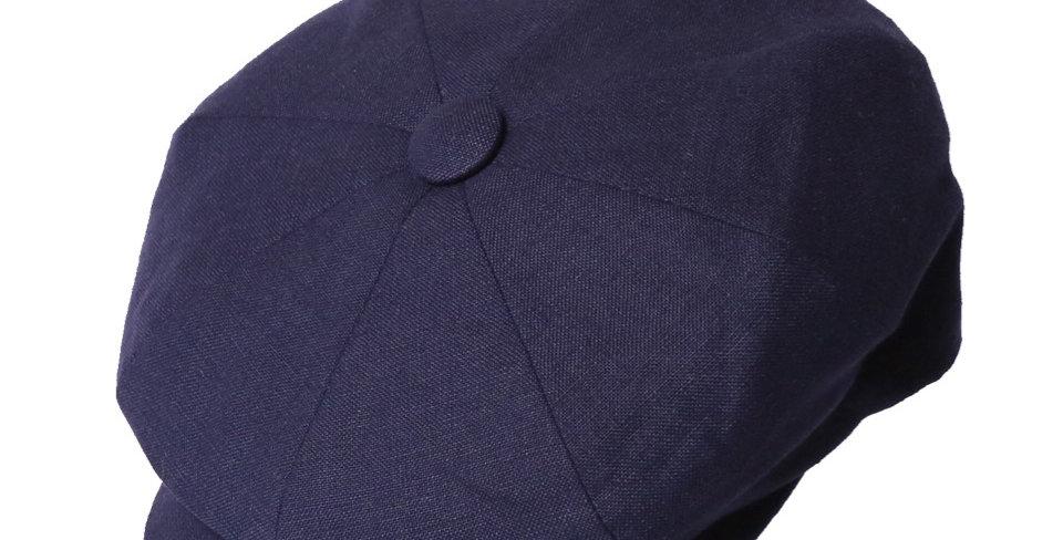 James Lock & Co. Summer Muirfield Linen Cap Navy ジェームスロック キャスケット イギリス 帽子