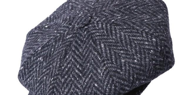 James Lock & Co. Muirfield tweed cap patt 3 ジェームスロック キャスケット イギリス 帽子