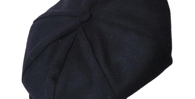 ご予約販売 James Lock & Co. Sandwich wool cap Black ジェームスロック キャスケット イギリス 帽子