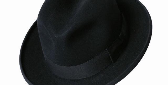 James Lock & Co. Homburg Black ジェームスロック ホンブルグ ハット イギリス 帽子