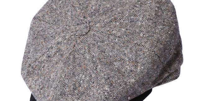 James Lock & Co. Tremelo tweed cap Black ジェームスロック キャスケット イギリス 帽子