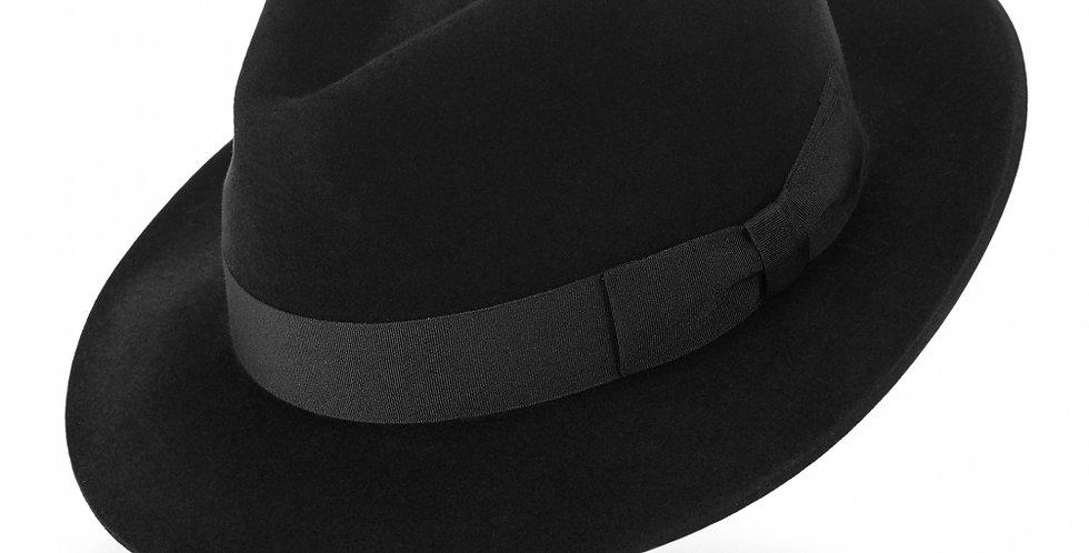 ご予約販売 James Lock & Co. Regent fedora Black ジェームスロック ハット イギリス 帽子