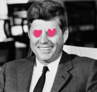 多くの美女と不倫関係にあったケネディ大統領の性欲を測定してみたらやばかった…
