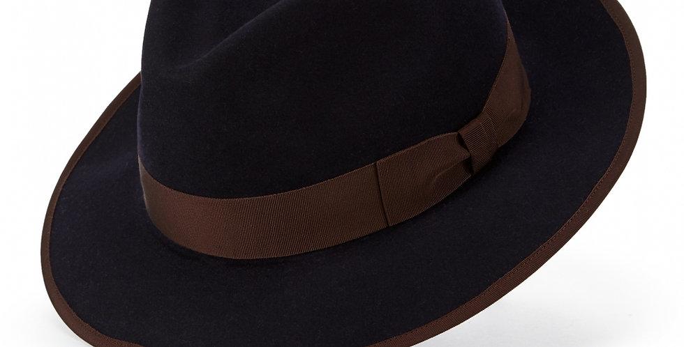 ご予約販売 James Lock & Co. Pickering trilby Navy ジェームスロック ハット イギリス 帽子