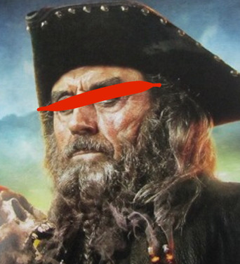 イギリスの海賊王 エドワードティーチ【黒ひげ】の帽子は…??