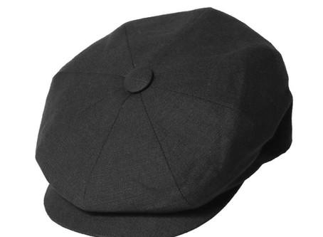 James Lock & Co. Summer Muirfield Linen Cap Black ジェームスロック キャスケット イギリス 帽子