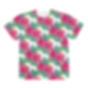 3サイケデリック花柄Tシャツ.jpg