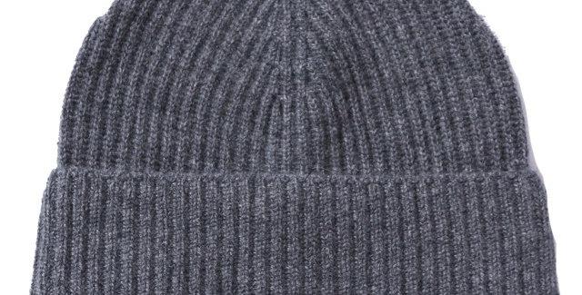 James Lock & Co. Cashmere ski beanie Grey ジェームスロック カシミアニットキャップ イギリス 帽子