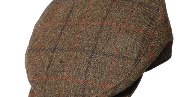 James Lock & Co. Turnberry tweed cap Patt1 ジェームスロック ハンチング イギリス 帽子