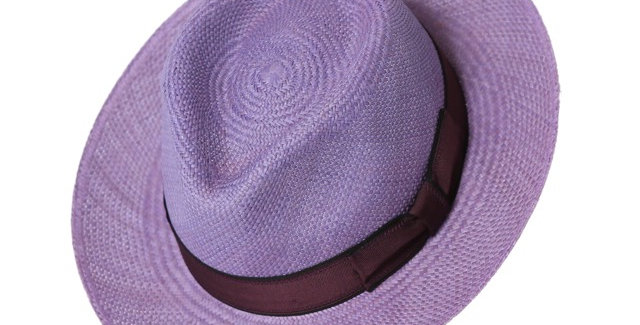 James Lock & Co. New Wave Panama Lilac ジェームスロック ハット イギリス 帽子 パナマハット