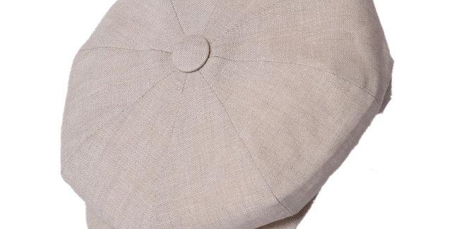 James Lock & Co. Summer Muirfield Linen Cap Natural ジェームスロック キャスケット イギリス 帽子