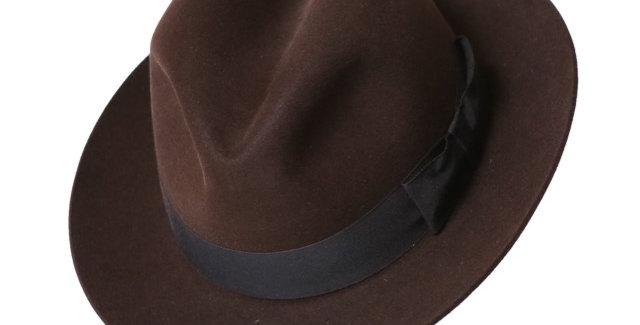 James Lock & Co. Chelsea Brown ジェームスロック ハット イギリス 帽子 チェルシー