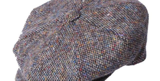 James Lock & Co. Muirfield tweed cap patt 1 ジェームスロック ミュアフィールド キャスケット イギリス 帽子