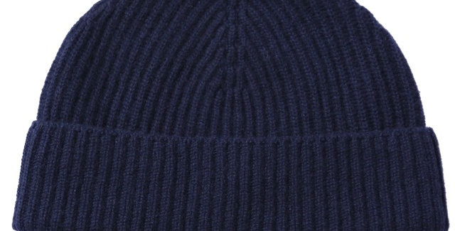 James Lock & Co. Cashmere ski beanie Navy ジェームスロック カシミアニットキャップ イギリス 帽子