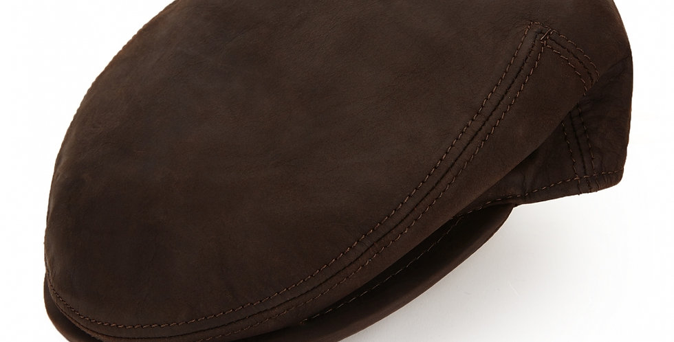 ご予約販売 James Lock & Co. Hunter leather cap Brown ジェームスロック ハンチング イギリス 帽子
