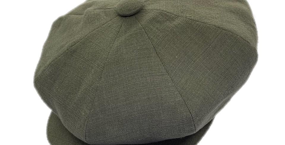 James Lock & Co. Summer Muirfield Linen Cap Grey ジェームスロック キャスケット イギリス 帽子