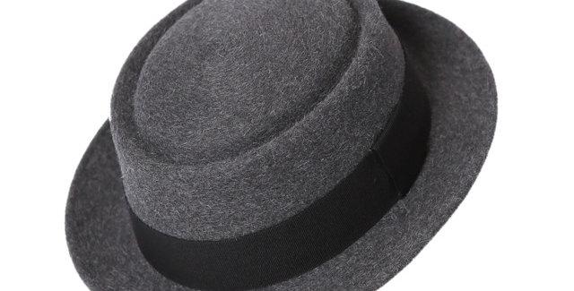 James Lock & Co. Doo-wop pork pie trilby Grey ジェームスロック ハット イギリス 帽子