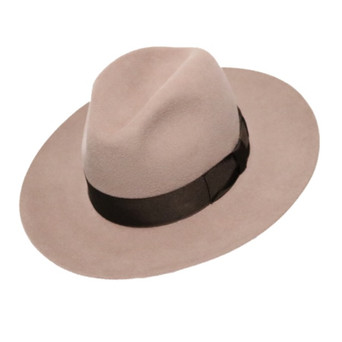James Lock & Co. Bowie Fedora Cream ジェームスロック ボウイフェドラ ハット イギリス 帽子