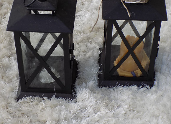 medium black lanterns