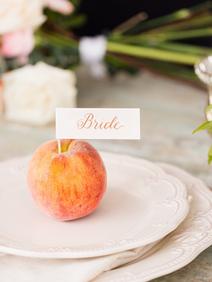 Peach Summer Wedding Inspiration Sweethe