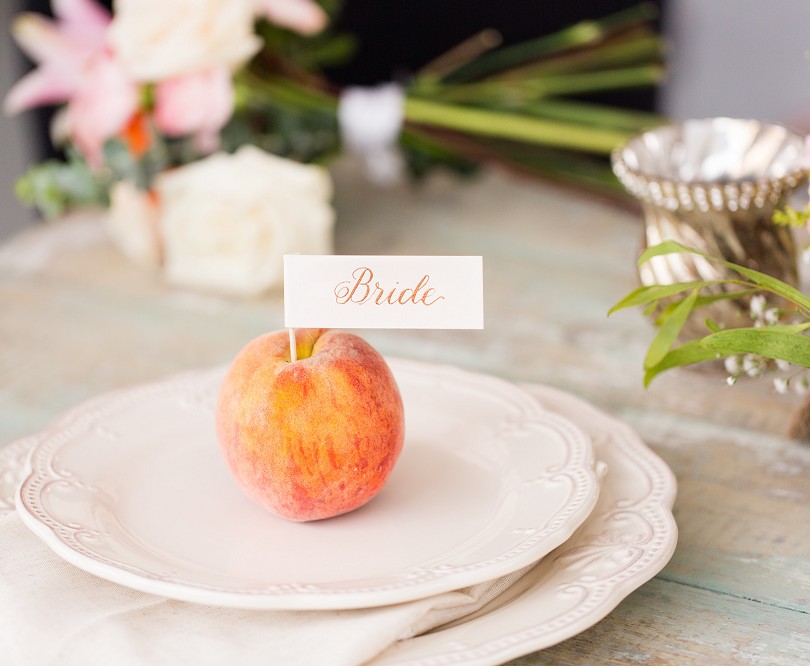 Peach Summer Wedding Inspiration Sweethe